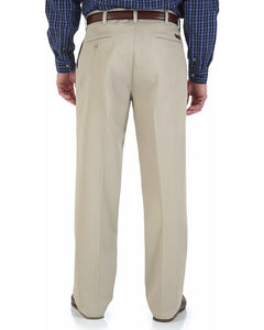 "Wrangler Rugged Wear Pleated Pants - Big Up to 50"" Waist, , hi-res"
