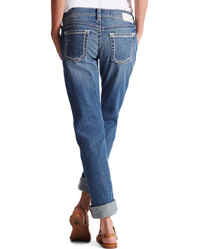 Ariat Women's Boyfriend Cuffed Jeans, Indigo, hi-res