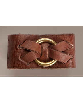 Frye Ring Cuff Bracelet, Brown, hi-res