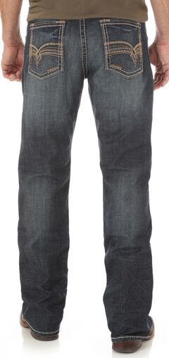 Wrangler Men's Indigo Rhythm Slim Boot Jeans - Big and Tall, , hi-res