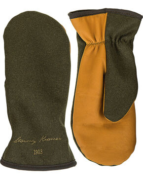 Stormy Kromer Men's Olive Tough Mitts, Olive, hi-res