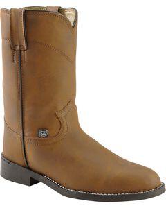 Justin Basics Roper Boots, , hi-res