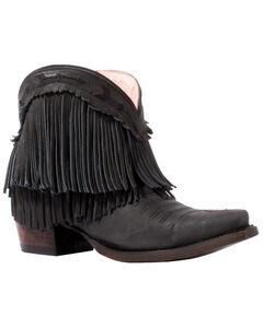 Junk Gypsy by Lane Women's Black Spitfire Boots - Snip Toe , , hi-res