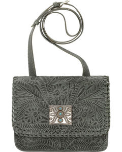 American West Turquoise Grand Prairie Crossbody Bag , , hi-res
