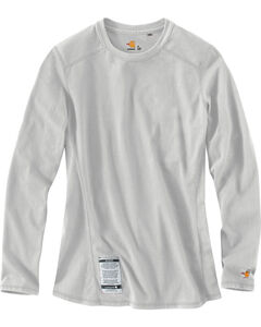 Carhartt Women's Flame Resistant Force Long Sleeve Top, , hi-res