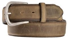 Justin Men's Bay Apache Leather Dress Belt, , hi-res