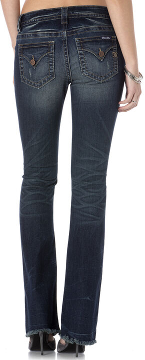 Miss Me Women's Indigo Bootcut Jeans, Indigo, hi-res