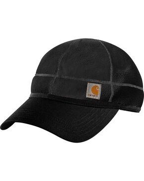 Carhartt Men's Force Griggs Fleece Visor Cap, Black, hi-res