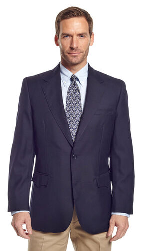 Circle S Men's Navy Austin Sport Coat, Navy, hi-res