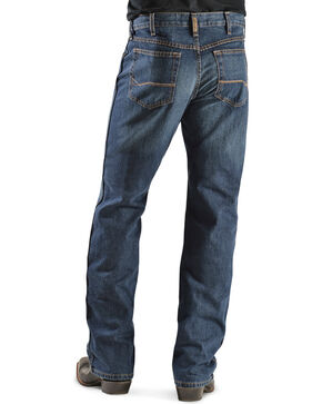 "Ariat Men's Heritage Relaxed Bootcut Jeans - 38"" Inseam, Dark Stone, hi-res"