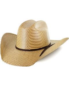Cody James Men's 20X Tri Color Weave Straw Hat, , hi-res