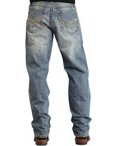 "Stetson 1520 Fit Classic ""X"" Stitched Jeans - Big & Tall, , hi-res"