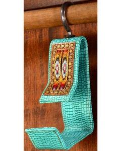 Phunky Horse Old Southwest Turquoise Hat Hanger, , hi-res