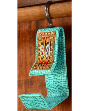 Phunky Horse Old Southwest Turquoise Hat Hanger, Turquoise, hi-res