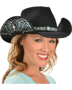 Bullhide Hats Women's Nobody But You Embellished Felt Cowgirl Hat, , hi-res