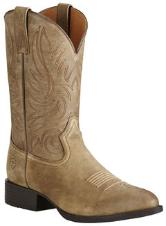 Ariat Men's Brown Heritage Hickok Boots - Medium Toe, , hi-res