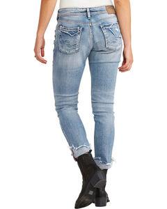 Silver Jeans Women's Kenni Boyfriend Jean, Indigo, hi-res