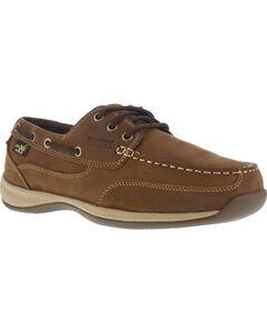 Reebok Men's Sailing Club Construction Shoes - Steel Toe , , hi-res