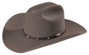 Stetson Angus 6X Fur Felt Western Hat, Grey, hi-res