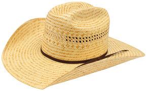 Ariat Poly Rope Americana Straw Cowboy Hat, Natural, hi-res