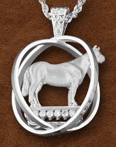 Kelly Herd Women's Sterling Silver Large World Trophy Necklace, , hi-res
