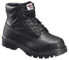 Avenger Men's Black Work Boots - Steel Toe, , hi-res