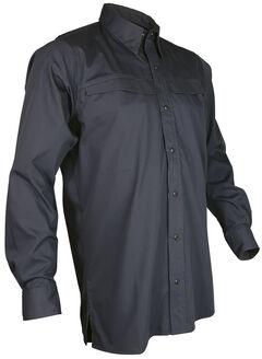 Tru-Spec Men's Grey Pinnacle Long Sleeve Shirt , , hi-res