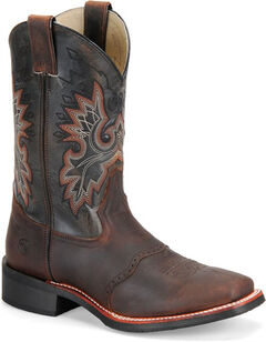 Double H Men's Roper Western Boots - Square Toe, , hi-res
