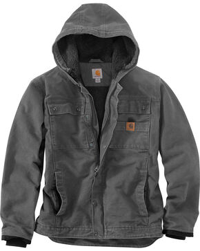 Carhartt Men's Bartlett Jacket - Big & Tall, Grey, hi-res