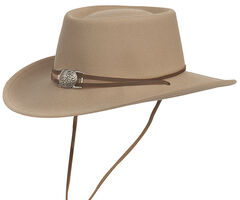 Silverado Men's Dusty Crushable Wool Western Hat, , hi-res