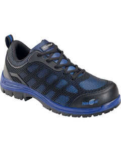 Nautilus Men's Blue Athletic Work Shoes - Composite Toe , , hi-res