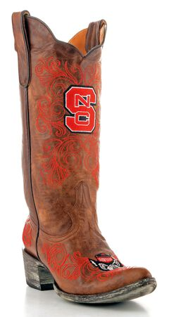 Gameday North Carolina State University Cowgirl Boots - Pointed Toe, , hi-res