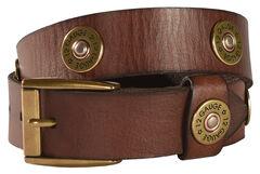 Boys' Shotgun Shell Concho Belt, , hi-res