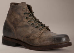 Frye Prison Boot Distressed Wax Suede Boots, , hi-res