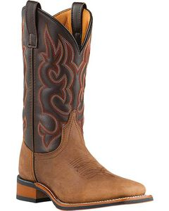 Laredo Lodi Cowboy Boots - Wide Square Toe, , hi-res