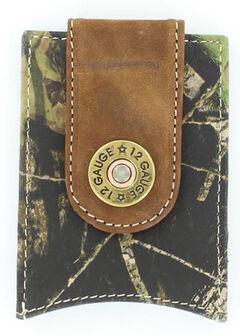 Nocona Shotgun Shell Mossy Oak Money Clip, , hi-res