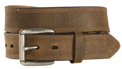 Ariat Aged Bark Basic Leather Belt, , hi-res