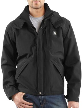 Carhartt Shoreline Jacket - Big & Tall, Black, hi-res
