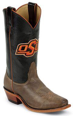 Nocona Women's Oklahoma State University College Boots - Snip Toe, , hi-res