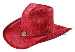 Bullhide All American Straw Cowgirl Hat, , hi-res