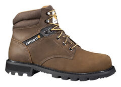 "Carhartt Men's 6"" Lace-Up Work Boots - Steel Toe, , hi-res"