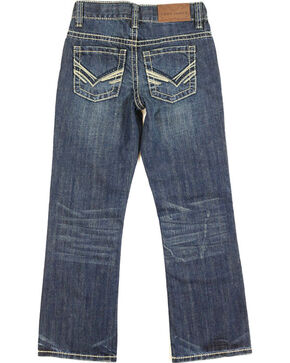 Cody James Boys' Boot Cut Denim, Dark Blue, hi-res