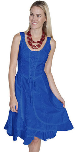 Scully Sleeveless Peruvian Cotton Dress, , hi-res