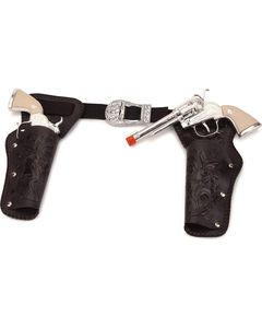 Double Holster Toy Cap Gun Set, , hi-res