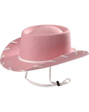 Children's Pink Woody Cowboy Hat, Pink, hi-res