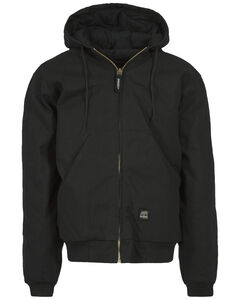 Berne Brown Duck Original Hooded Jacket - Big and Tall, , hi-res