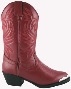 Smoky Mountain Toddler Girls' Mesquite Western Boots - Round Toe, , hi-res