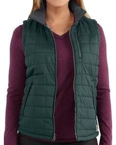Carhartt Women's Pine Amoret Quilted Vest, , hi-res