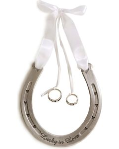 Western Wedding Ring Bearer Horseshoe, , hi-res