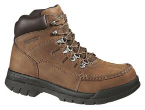 "Wolverine Potomac 6"" Work Boots - Steel Toe, Brown, hi-res"